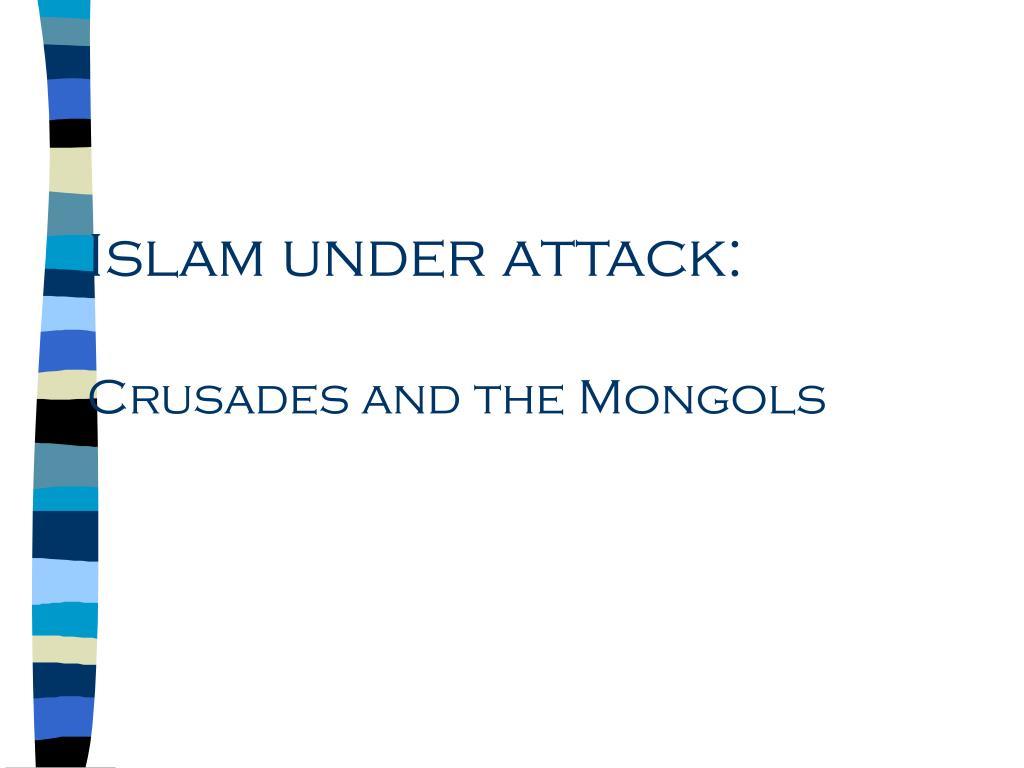Islam under attack:
