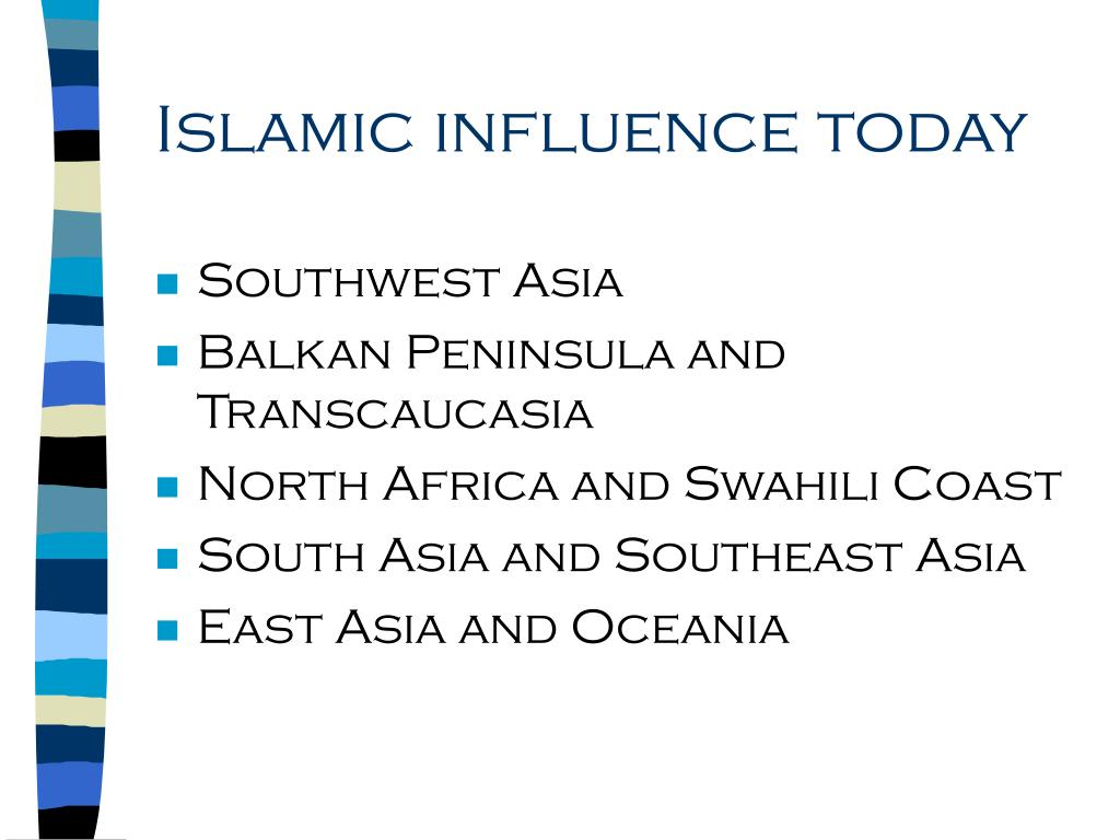 Islamic influence today