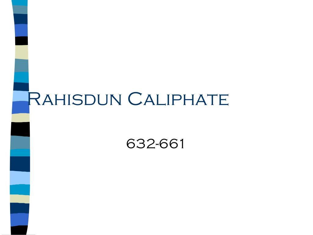 Rahisdun Caliphate