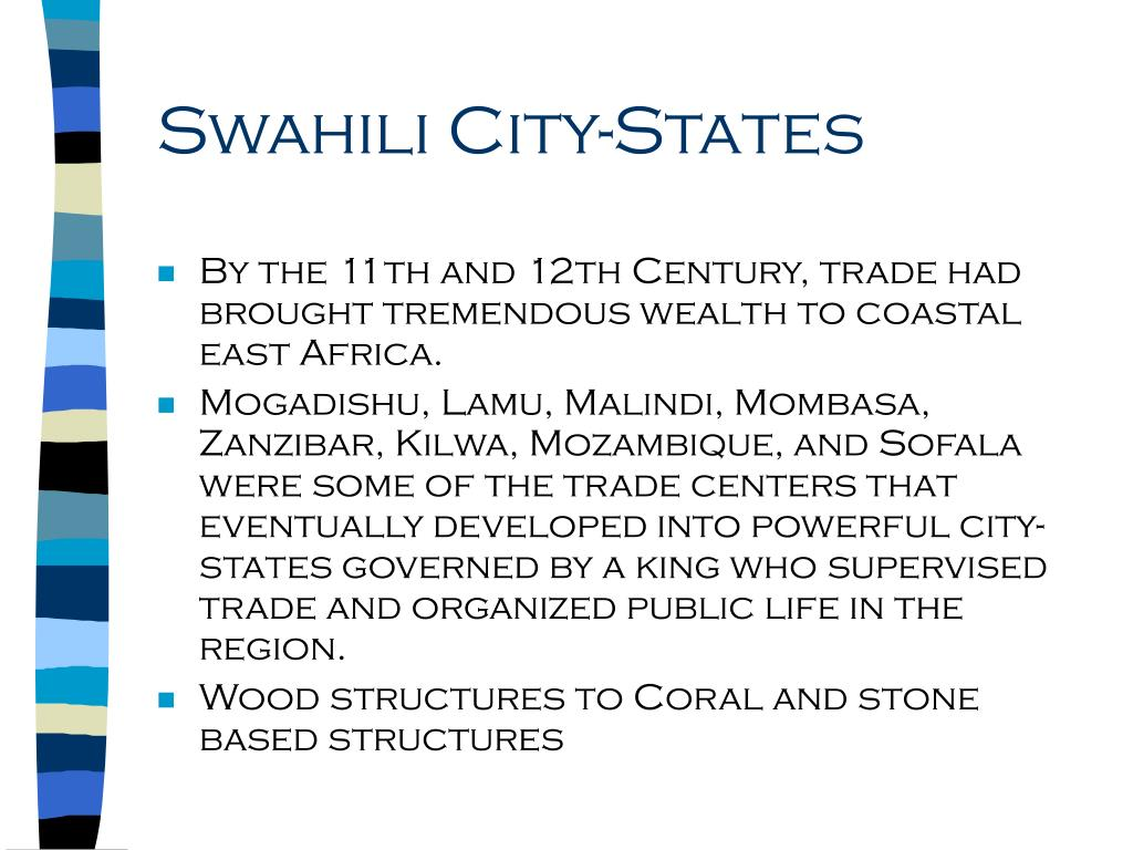 Swahili City-States