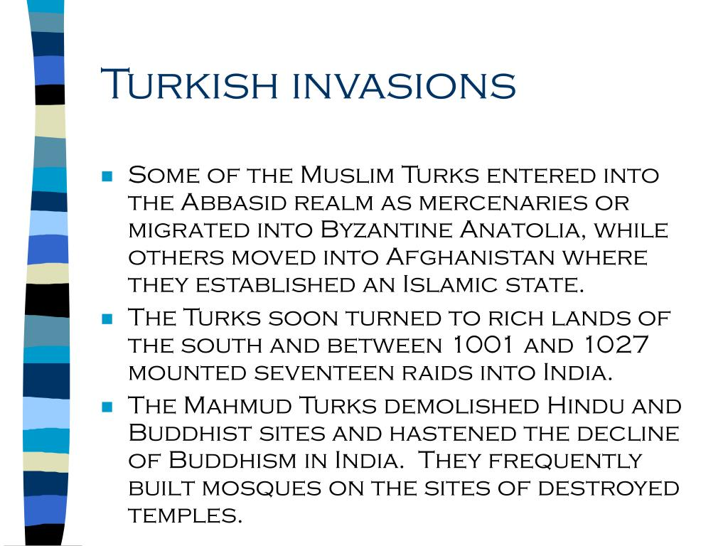Turkish invasions