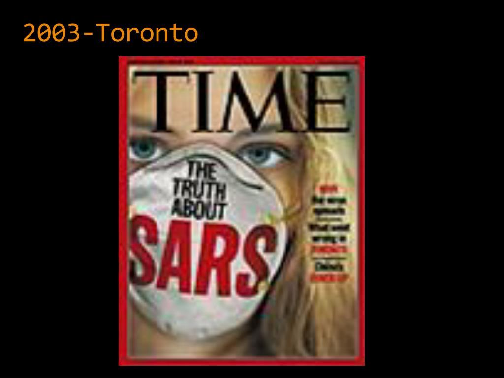 2003-Toronto