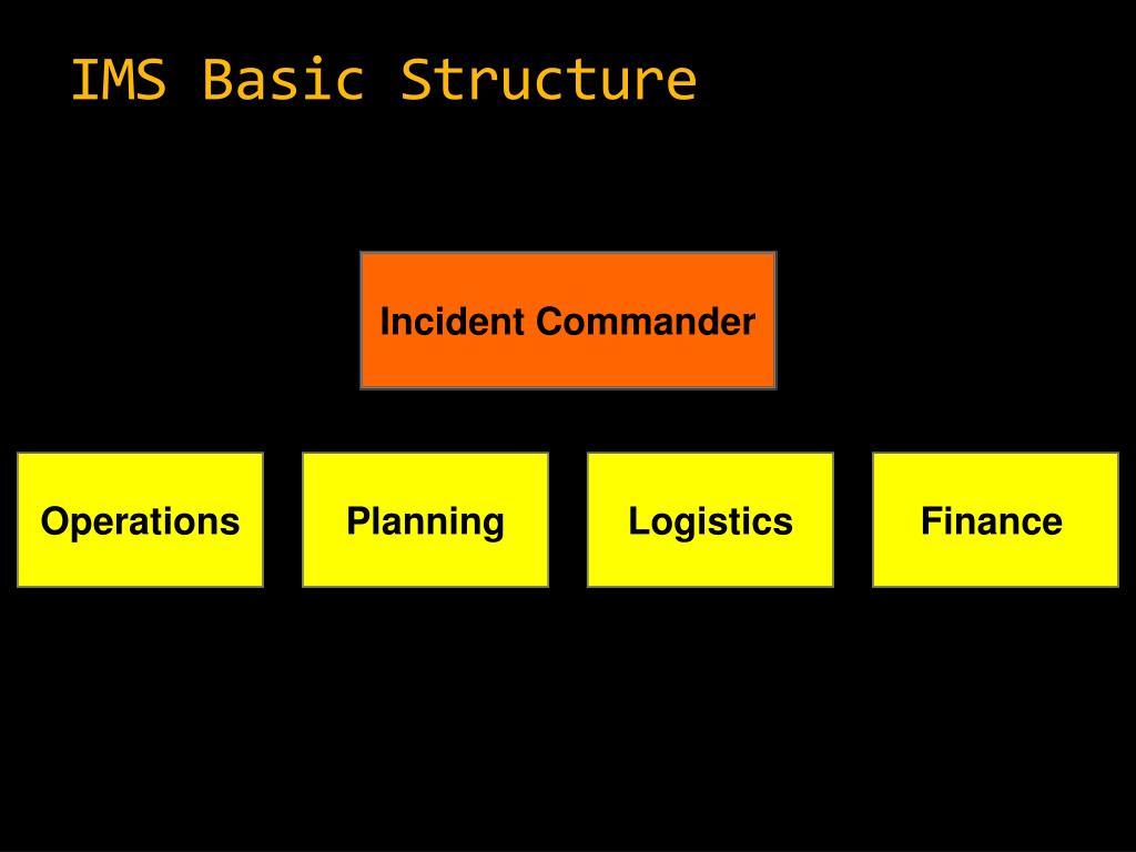 IMS Basic Structure