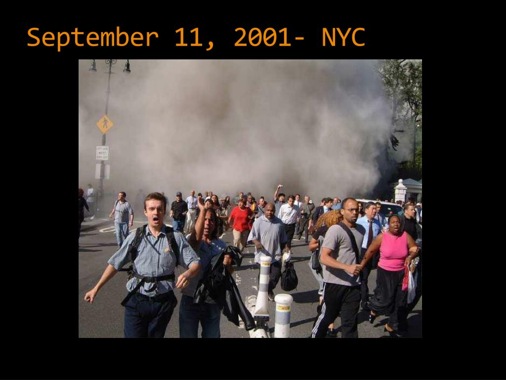 September 11, 2001- NYC