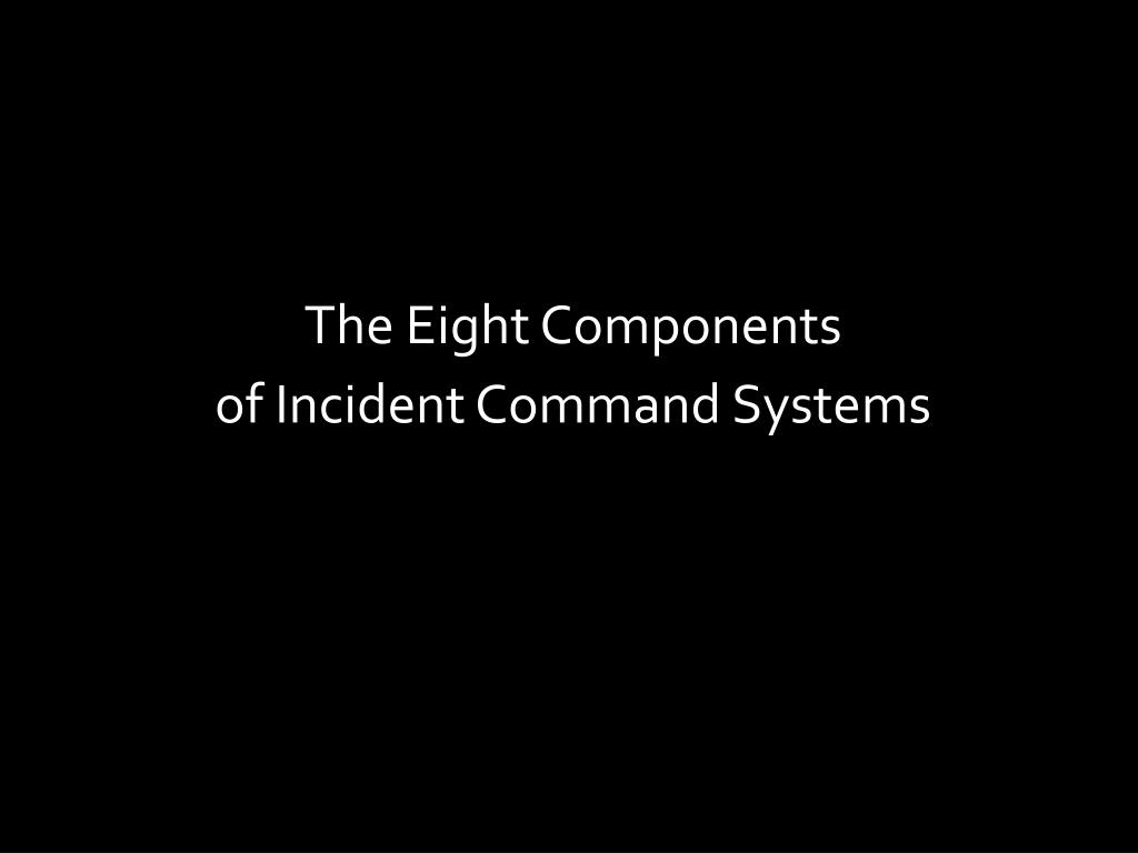 The Eight Components