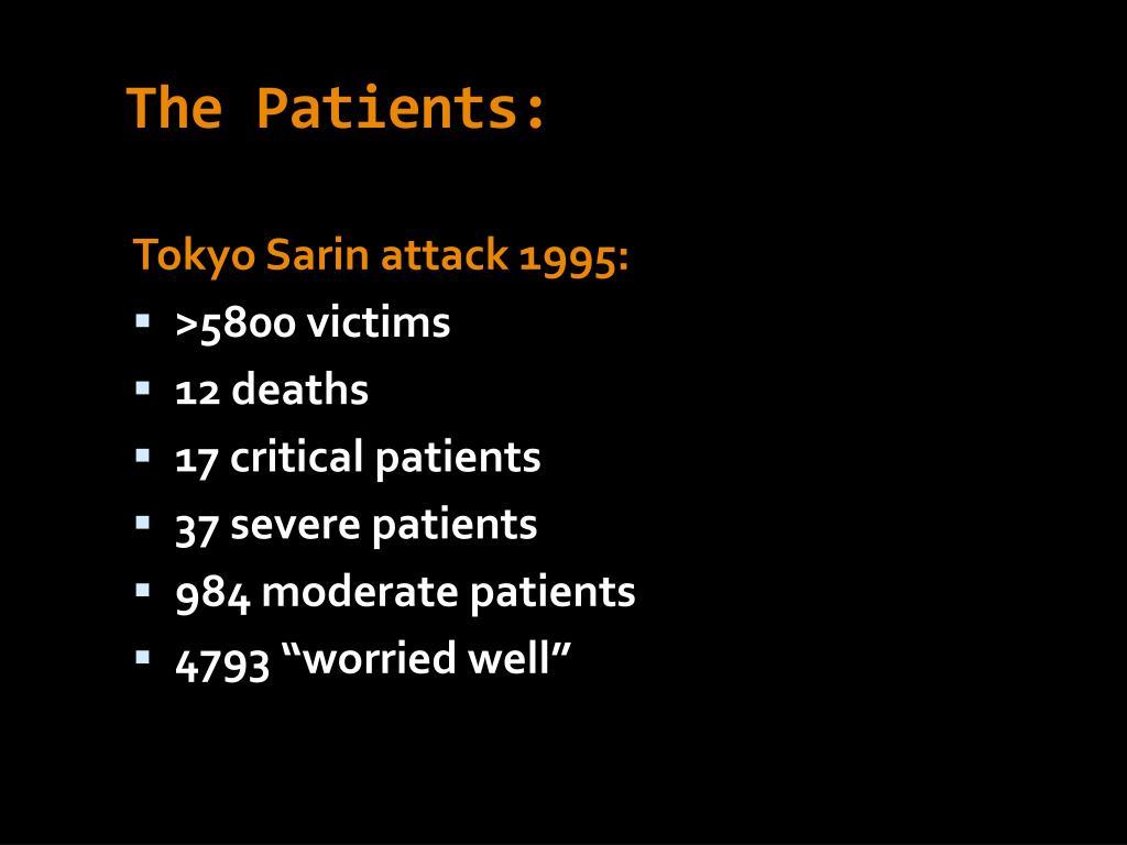 The Patients: