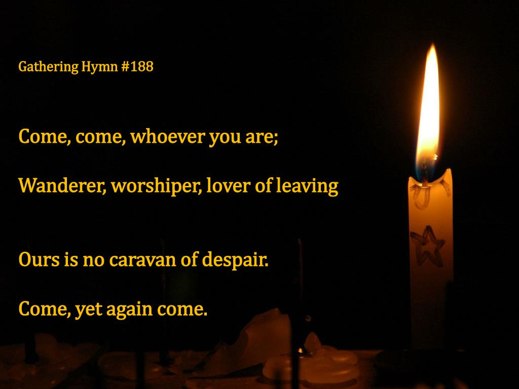 Gathering Hymn #188