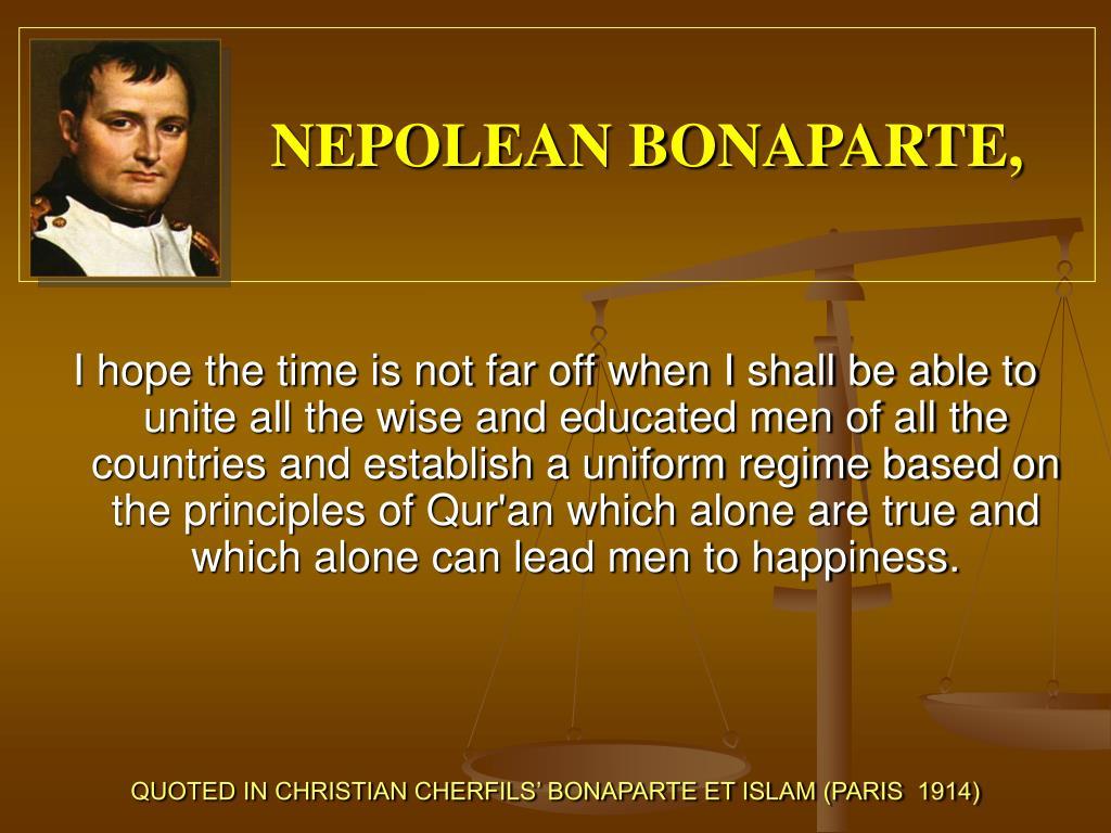 NEPOLEAN BONAPARTE,