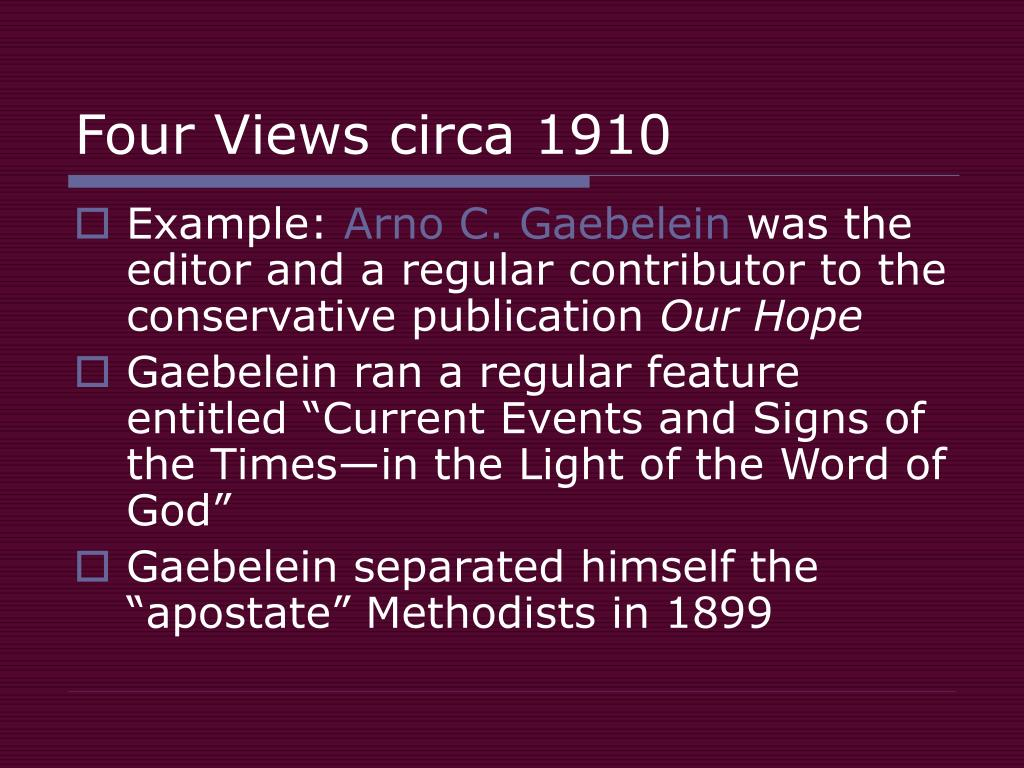 Four Views circa 1910