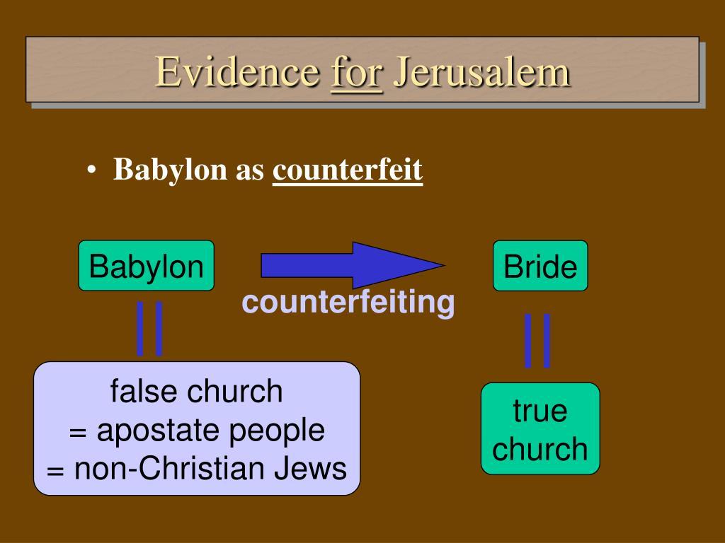 false church