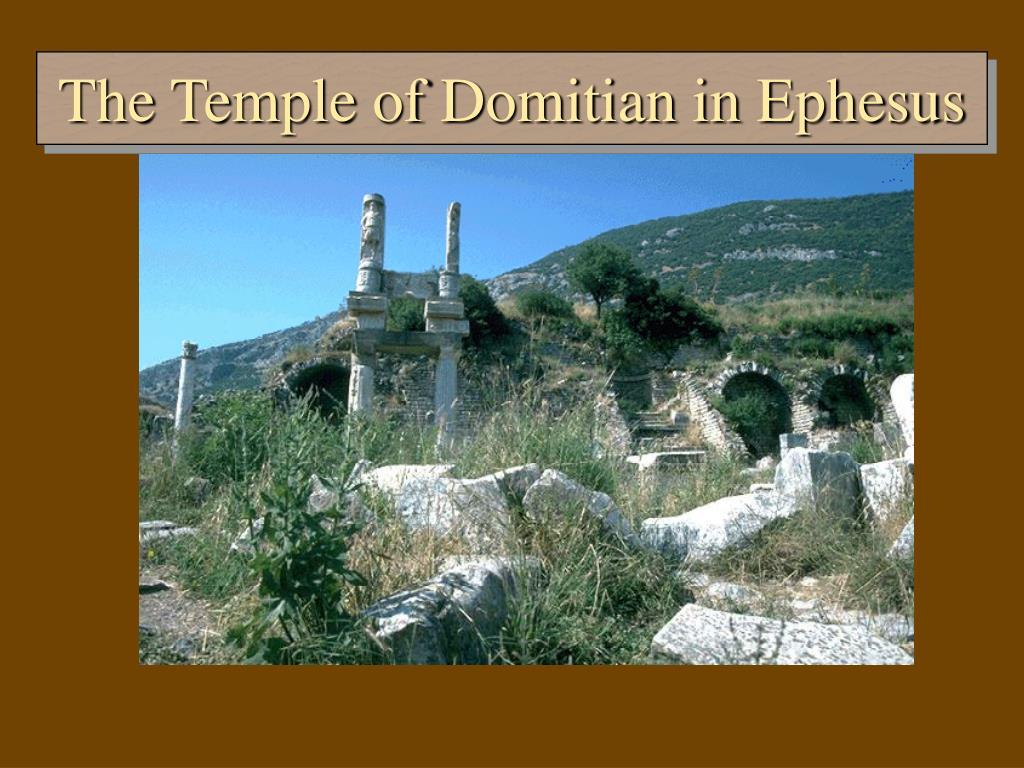 The Temple of Domitian in Ephesus
