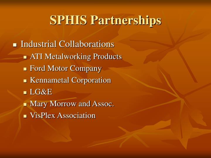 SPHIS Partnerships