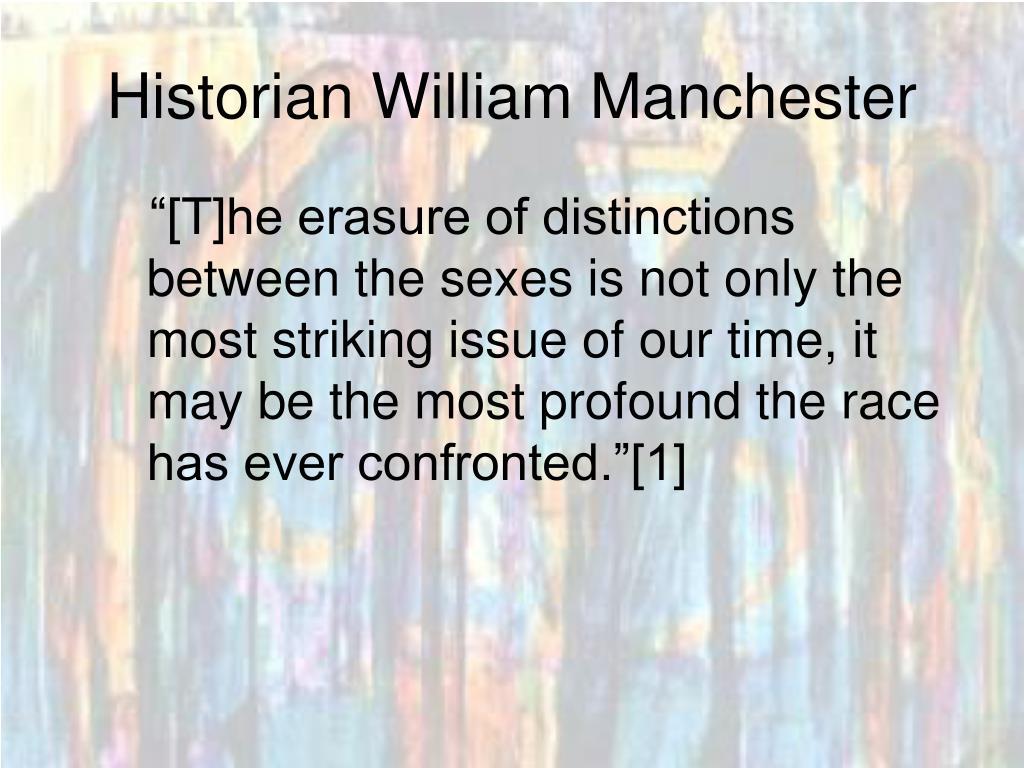 Historian William Manchester