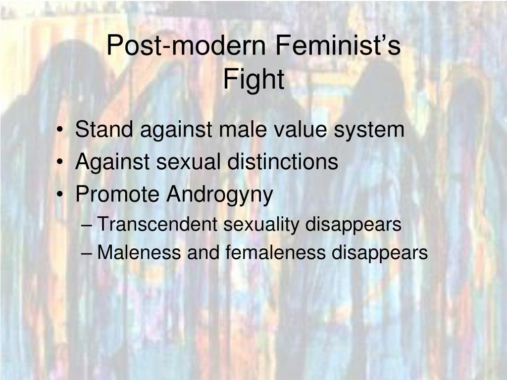 Post-modern Feminist's