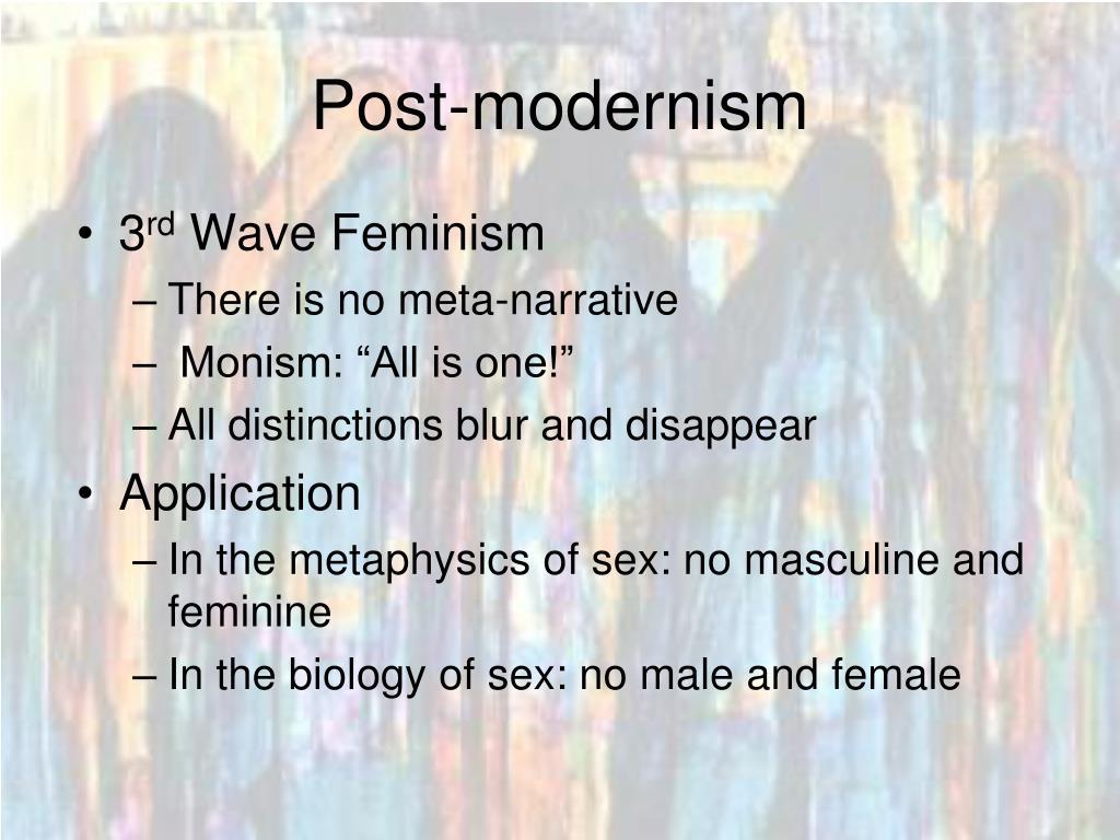 Post-modernism