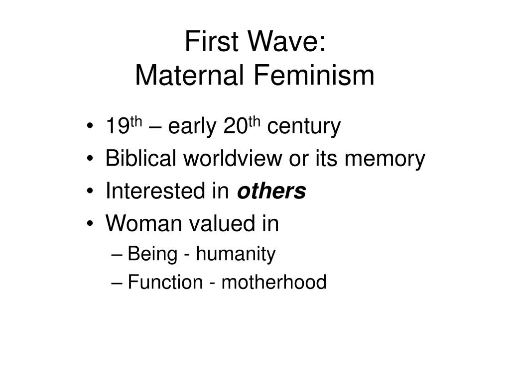 First Wave: