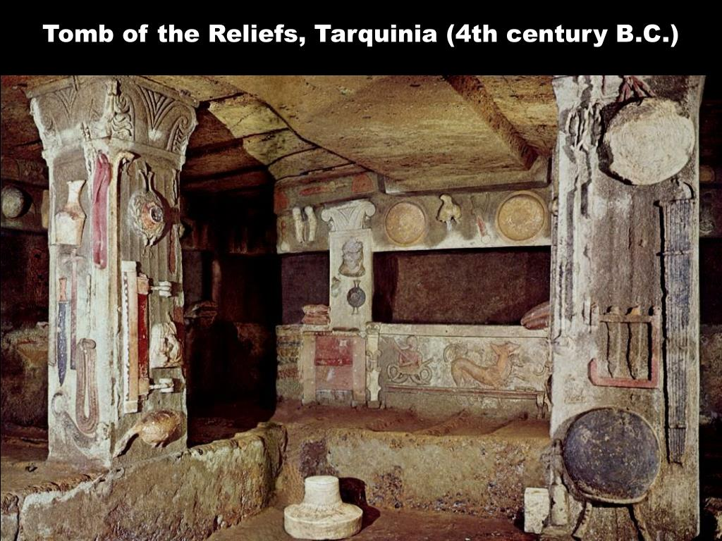Tomb of the Reliefs, Tarquinia (4th century B.C.)