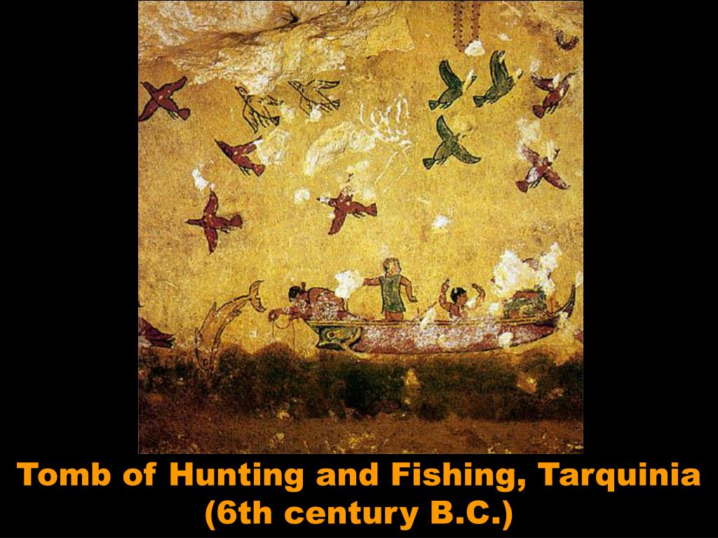 Tomb of Hunting and Fishing, Tarquinia (6th century B.C.)