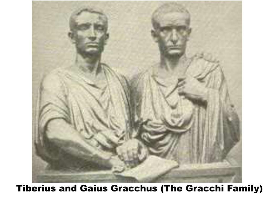 Tiberius and Gaius Gracchus (The Gracchi Family)