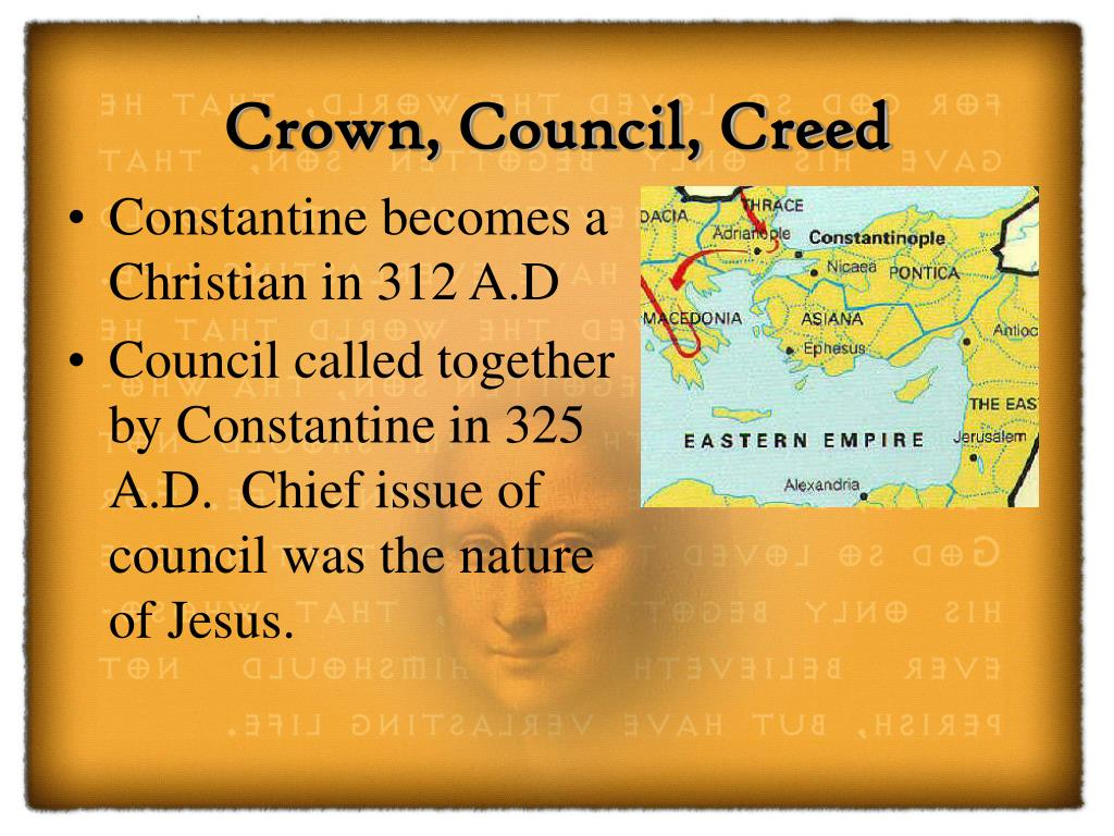 Crown, Council, Creed