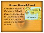 crown council creed