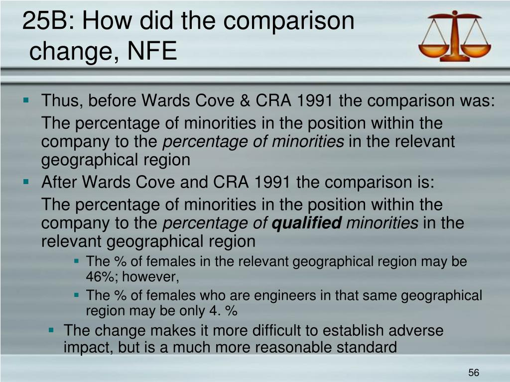 25B: How did the comparison
