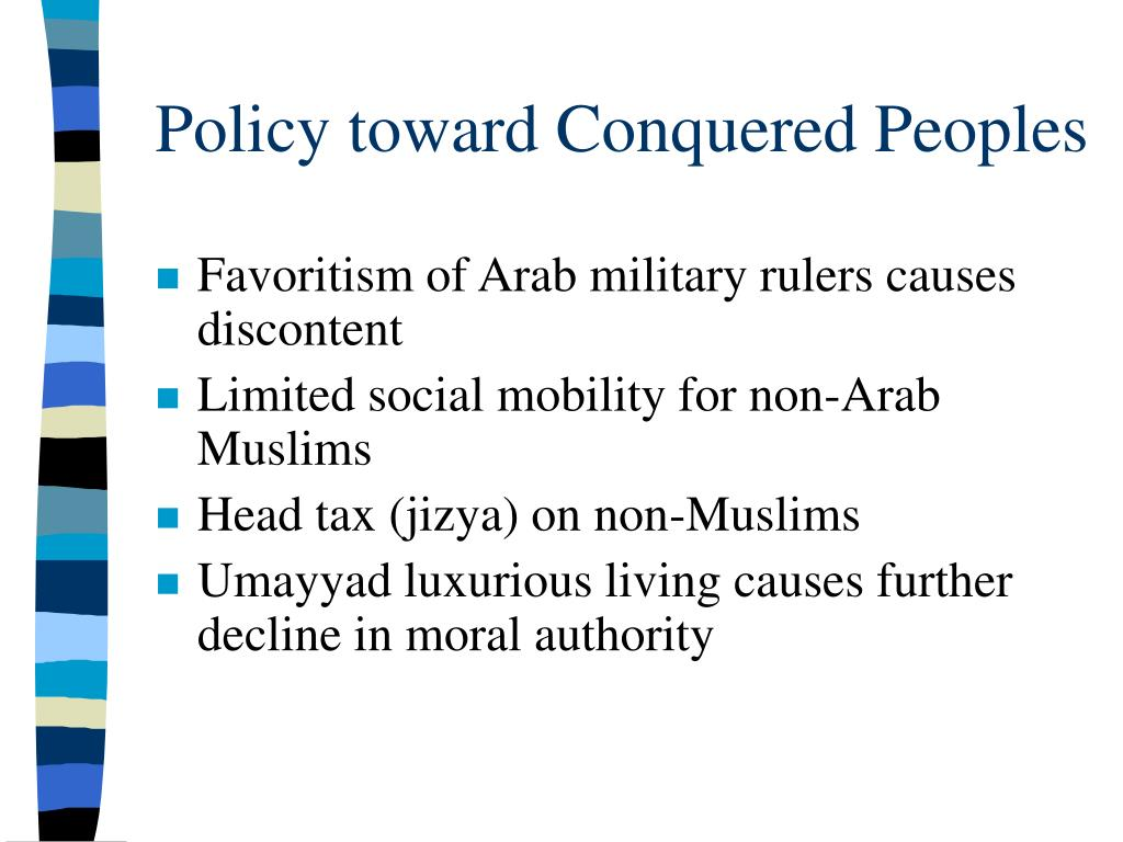 Policy toward Conquered Peoples