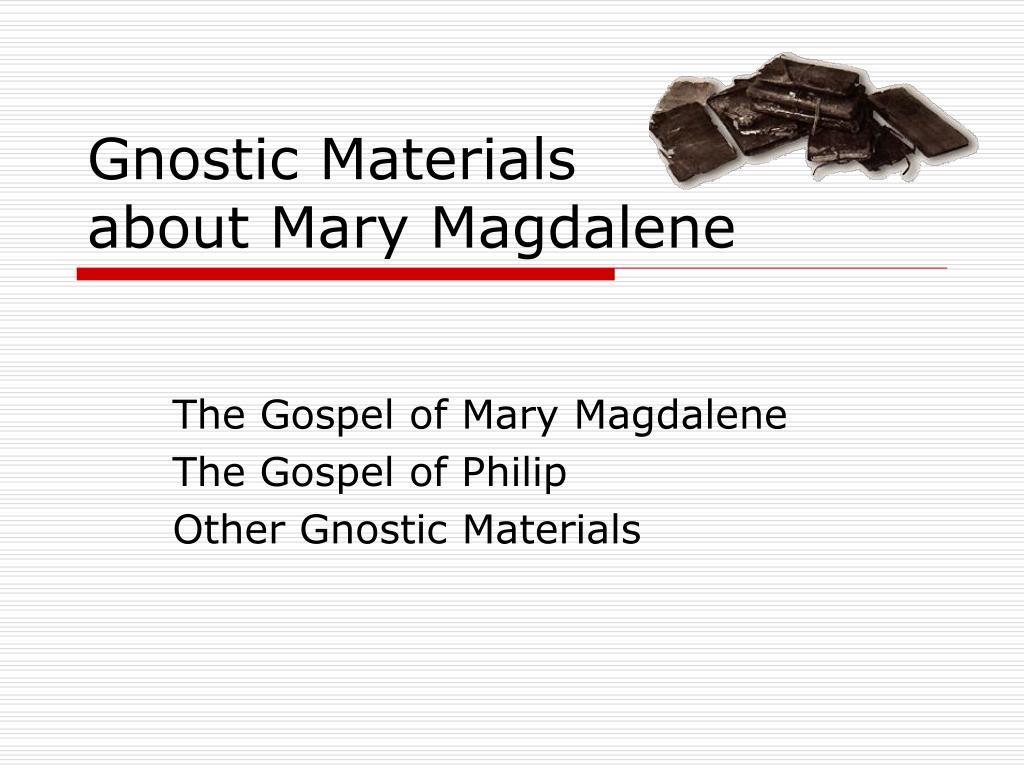 Gnostic Materials