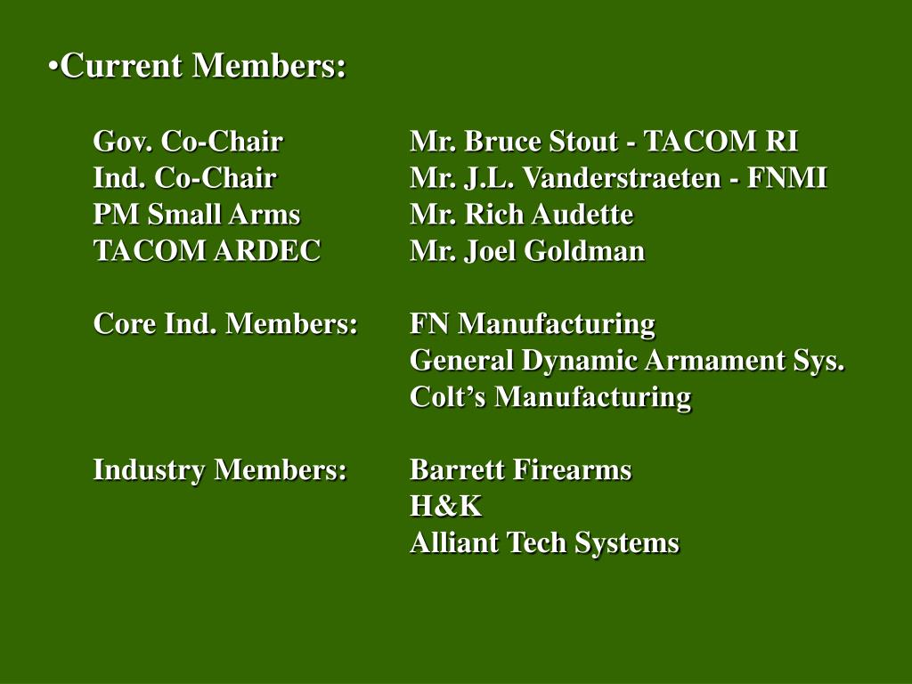 Current Members: