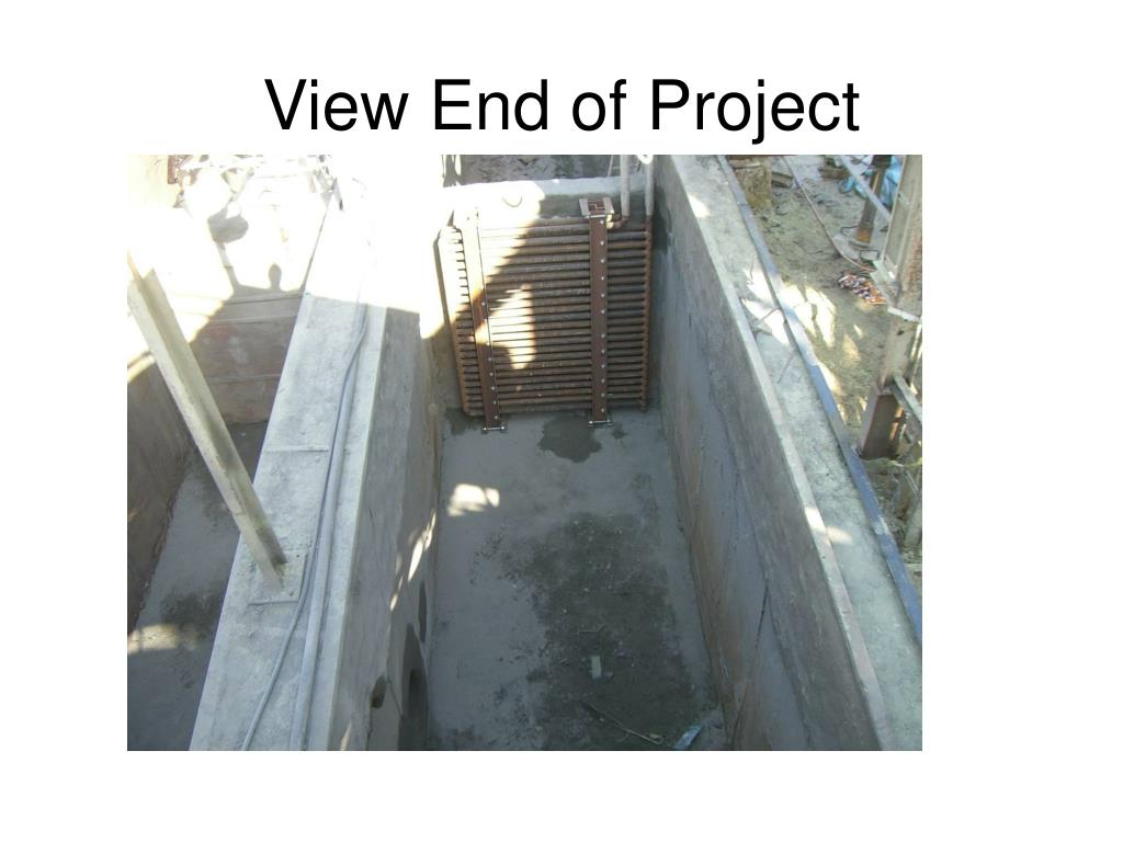 View End of Project