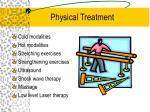 physical treatment