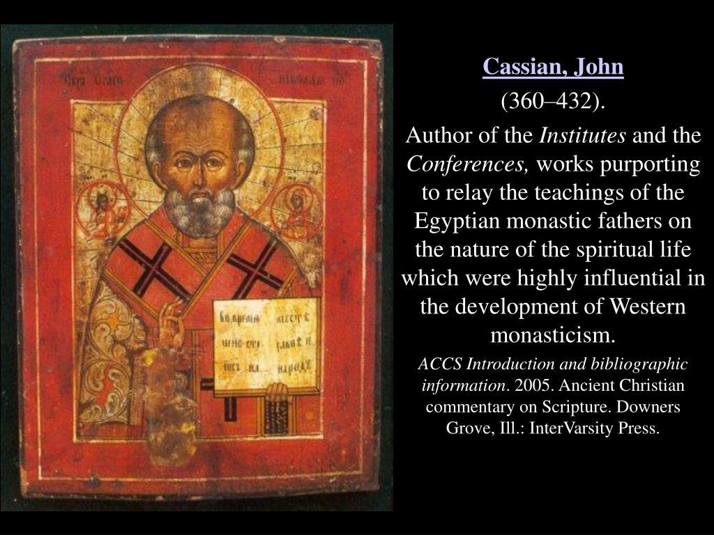 Cassian, John