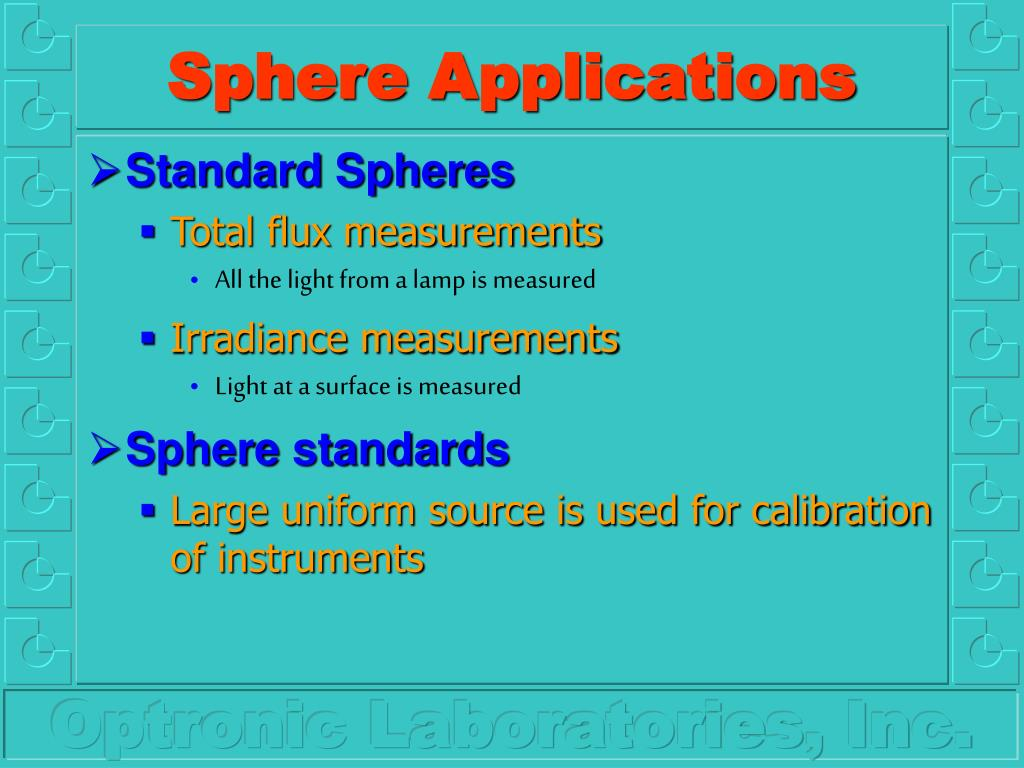 Sphere Applications