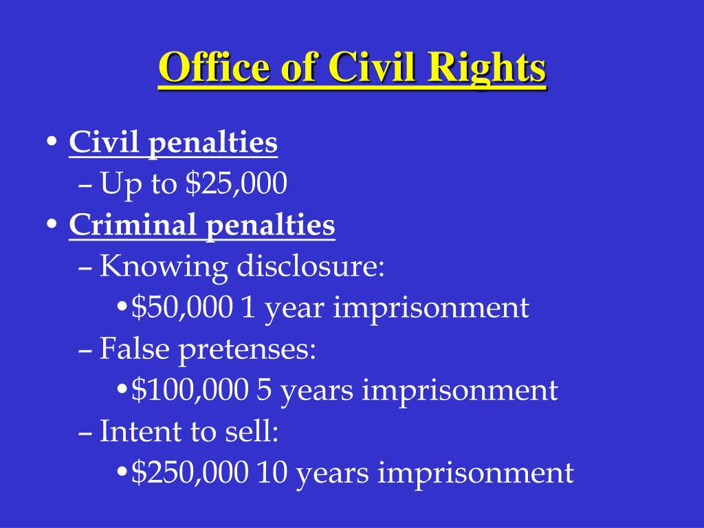 Office of Civil Rights