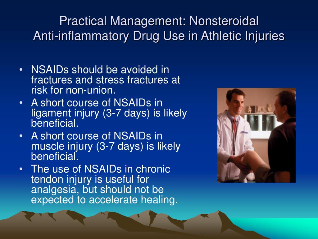 Practical Management: Nonsteroidal