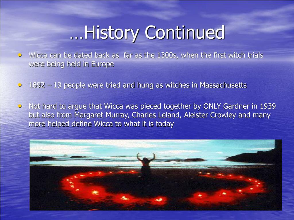 …History Continued