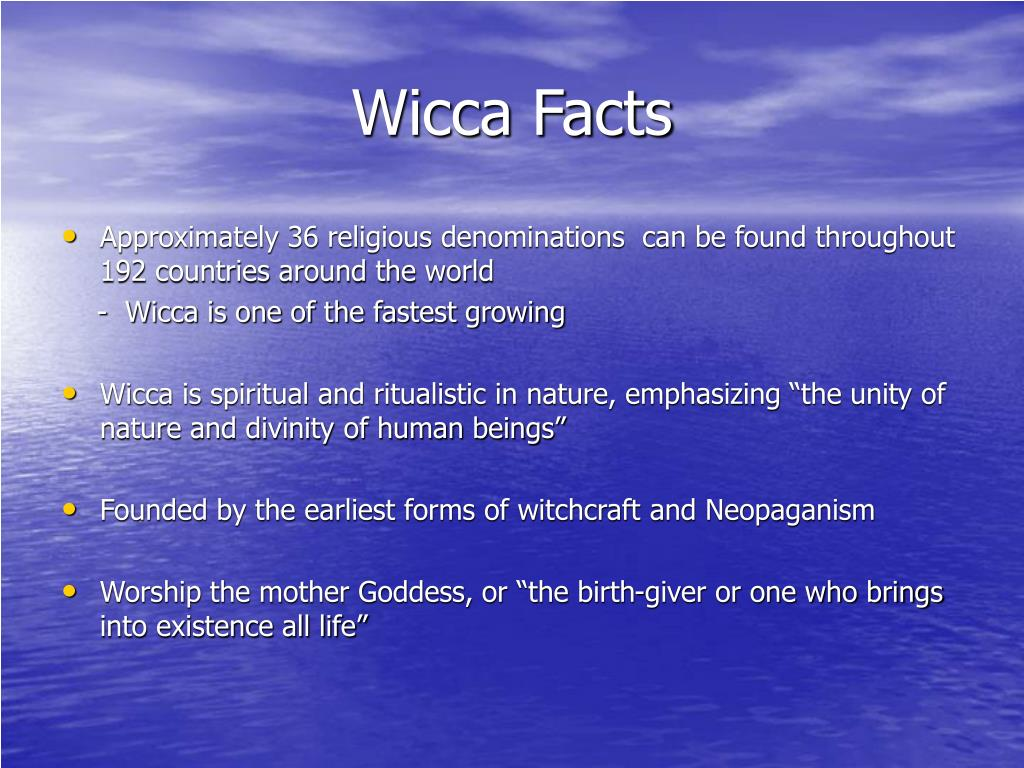 Wicca Facts