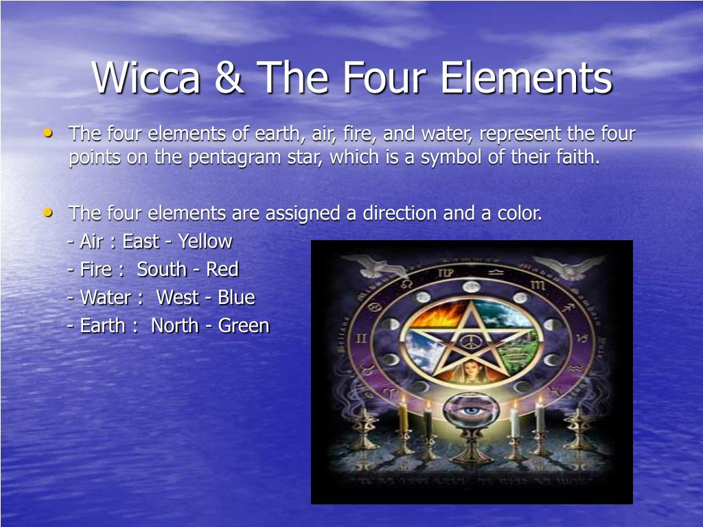 Wicca & The Four Elements