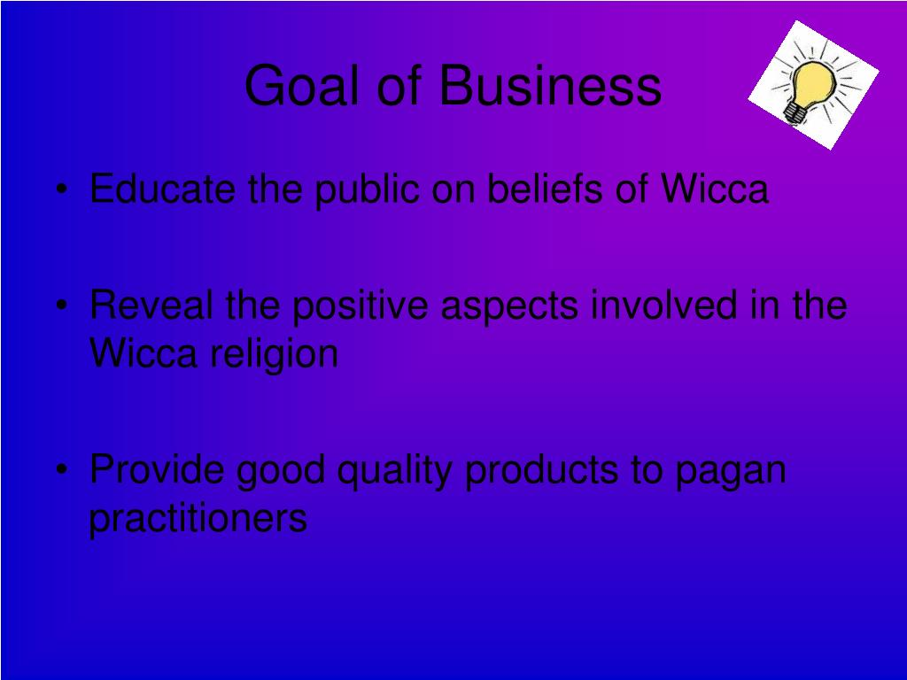 Goal of Business