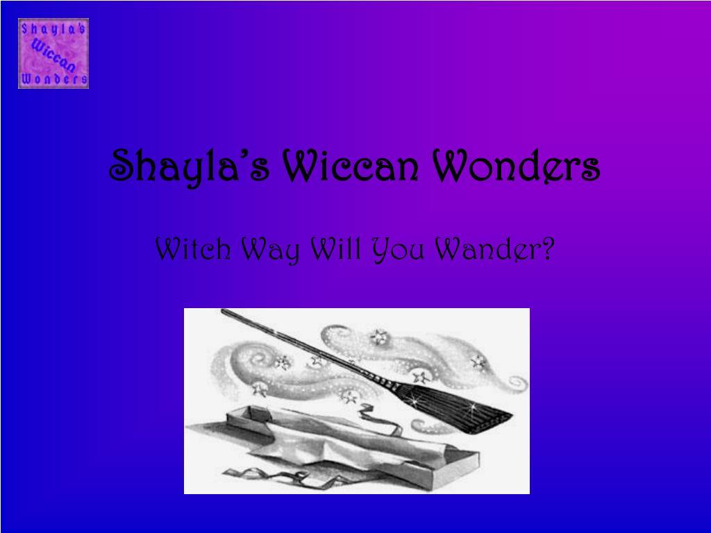 Shayla's Wiccan Wonders