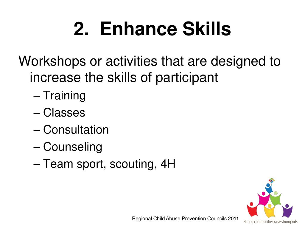 2.  Enhance Skills