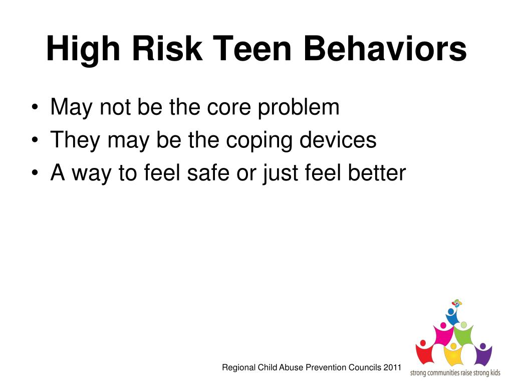 High Risk Teen Behaviors