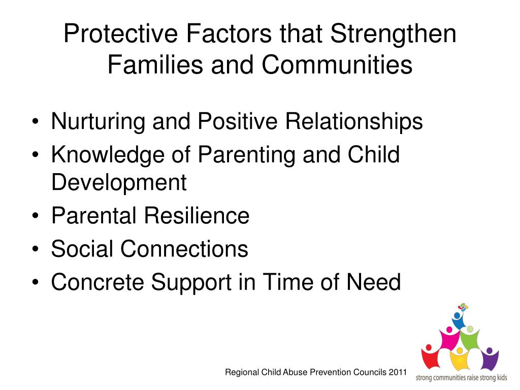Protective Factors that Strengthen Families and Communities