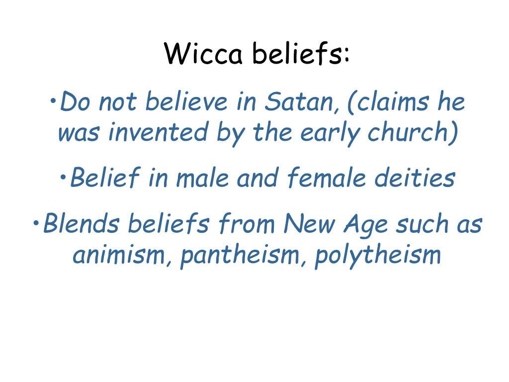 Wicca beliefs: