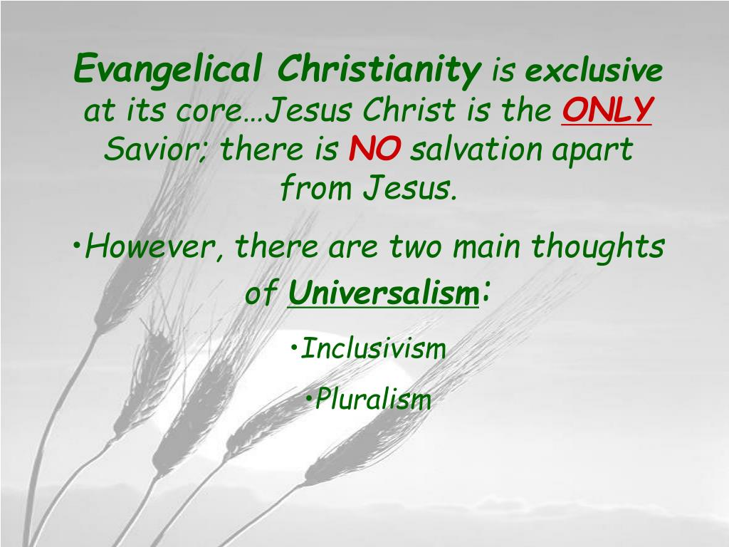 Evangelical Christianity