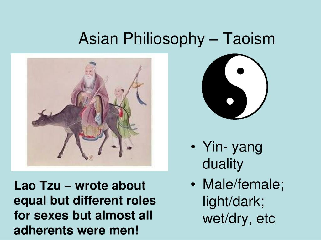 Asian Philiosophy – Taoism