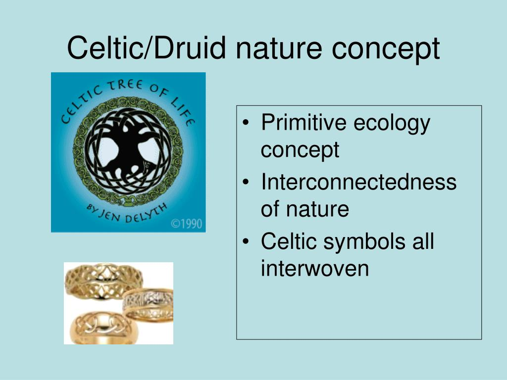 Celtic/Druid nature concept