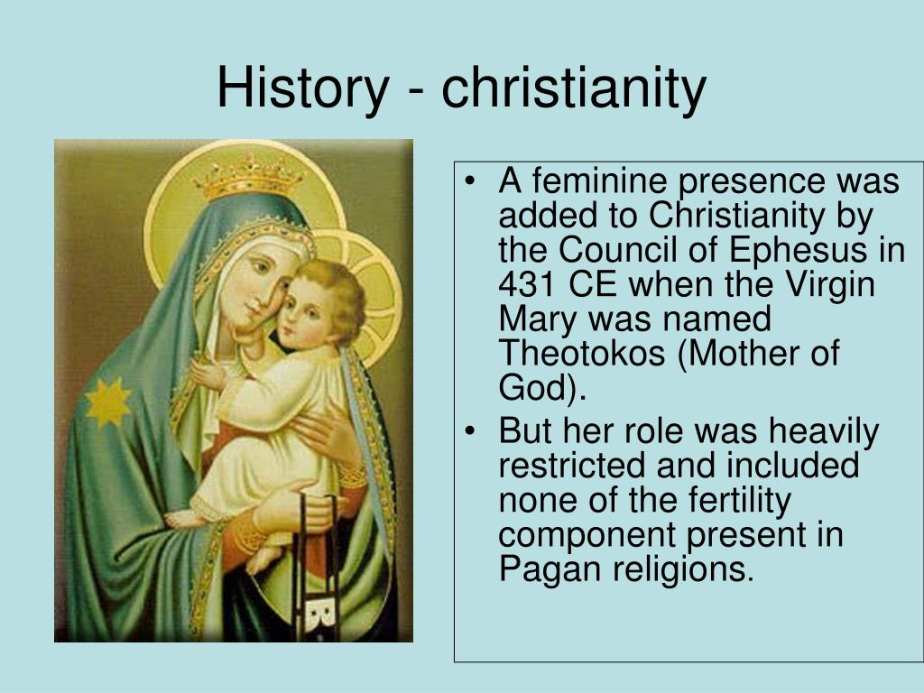 History - christianity