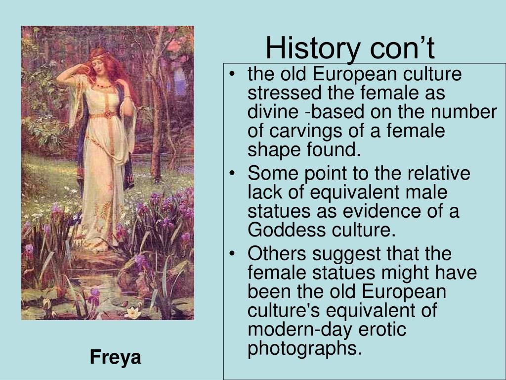 History con't
