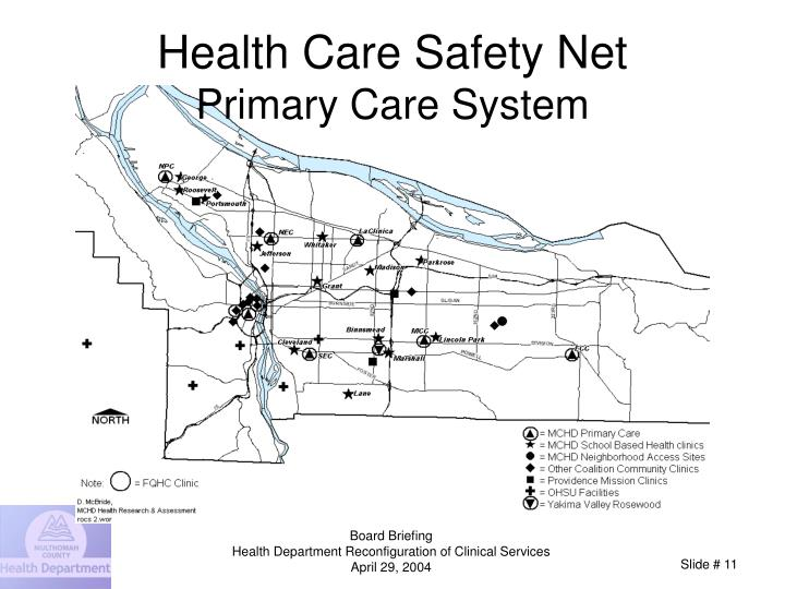 Health Care Safety Net